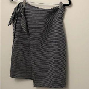 Club Monaco tie wait skirt